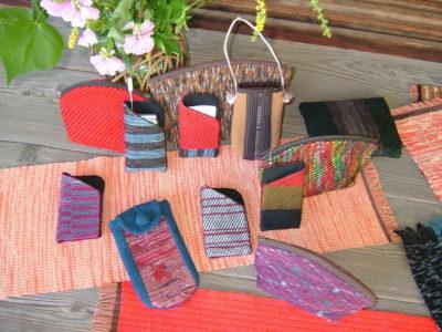 3月25日●温もりの「手しごと」作品をご自宅に●ぼろ機織展示即売会