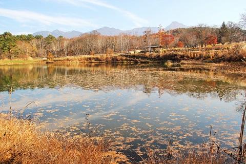 秋から冬へ、移ろう八ヶ岳(原村より)
