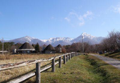 雪の八ヶ岳がきれいです(長野県原村)